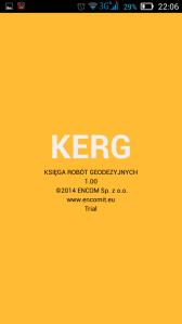Kerg - subiektywna ocena nowej aplikacji dla geodetów